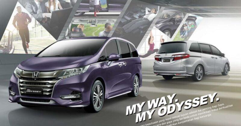Harga dan Spesifikasi Honda Odyssey Semarang
